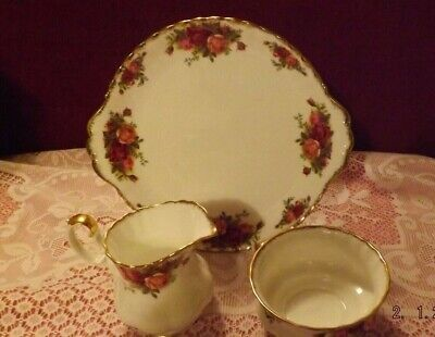 Royal Albert Old Country Roses Mixed Lot x 3