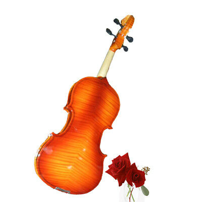 A28 Handmade 4/4 Full Size Wooden Violin Beginners Practice Musical Instrument M