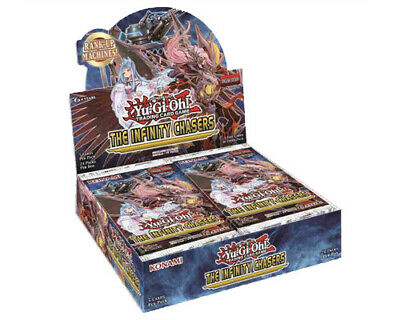 Yu-Gi-Oh The Infinity Chasers Booster Box New/Sealed NOW SHIPPING