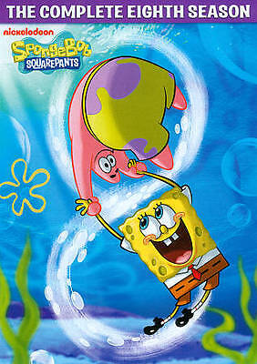 SPONGEBOB SQUAREPANTS COMPLETE SEASON 8 New Sealed 4 DVD Set