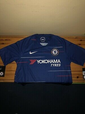 Chelsea FC - 2018/19 Home Shirt - Size Medium - New With Tags