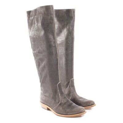 MARC SHOES STIEFEL Damen Gr. DE 39 Leder braun #476bbd1