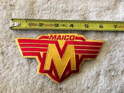 Maico 250 360 400 440 490 Cloth Patch NEW Ahrma Vintage MX Calvmx