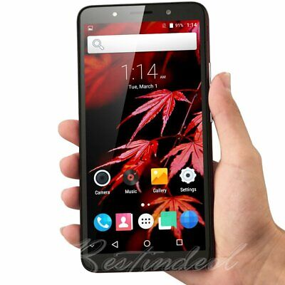 """GSM Unlocked 6.0"""" Cell Phone Android 7.0 Dual SIM 3G WIFI Smartphone Quad Core"""