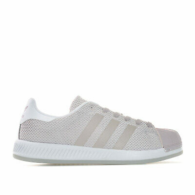 a626b552d33f6 WOMENS ADIDAS ORIGINALS Superstar Bounce Trainers In Easy Mint - EUR ...
