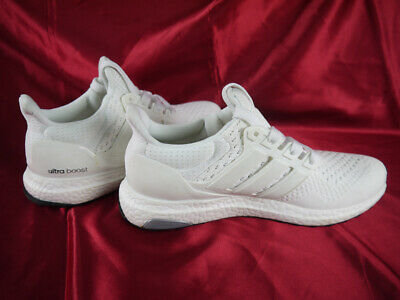 9376e8cf82f49 New In Hand Adidas Ultra Boost 1.0 Triple White Running Shoes Size 7 S77416