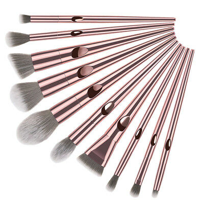 10stücke Make Up Pinsel Set Erröten Pulver Erröten Beauty Kosmetik Makeup Pinsel