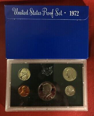 1972-S U.S.Proof set. complete and original as issued by US Mint.