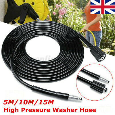 5M High Pressure Washer Hose For Black and Decker PW1500 PW1500 PW1700 PW2000