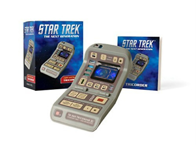 Running Press (Cor)-Star Trek - Light-And-Sound Tricorder ACC NEW