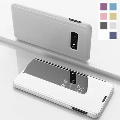 Smart Touch Mirror Flip Stand Slim Case Cover For Samsung Galaxy S10e S10+ Plus