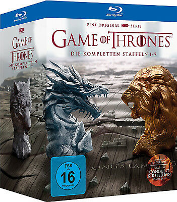 Game of Thrones - Komplette Staffel 1-7 - Limited Digipack Edition (35xBlu-ray)