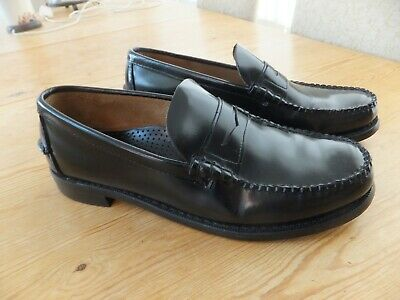 53ae1e50f27 Sebago classic Dan Leather slip on loafer shoes. UK Size 11.5 WORN ONCE!