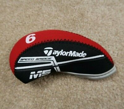 10Pcs Red Quality Neoprene Taylormade M5 Golf Club Iron Covers HeadCovers Velcro
