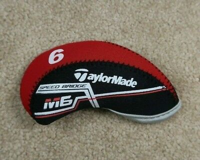 10Pcs Red Quality Neoprene Taylormade M6 Golf Club Iron Covers HeadCovers Velcro