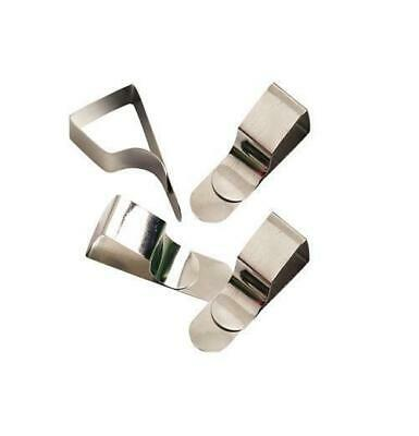 Pack of 4 Drawing Board Clips - Arts Crafts Metal