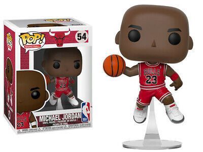 FUNKO Pop! NBA Chicago Bulls Basketball Michael Jordan 4 inch vinyl figure NEW!