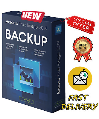 Acronis True Image 2019 🔥LIFETIME ACTIVATOR🔥 Multi Devices✅ FAST DELIVERY(20s)