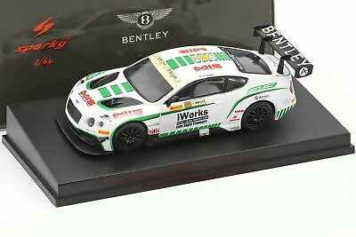 Bentley Continental Gt3 #88 Macau Gp Fia Gt World Cup 2015 Keita Sawa 1:64