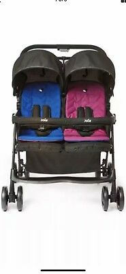 Joie Aire Twin Stroller With Raincover