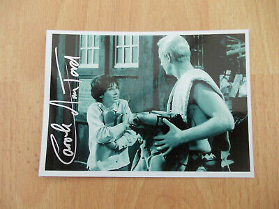 Doctor Who Carole Anne Ford Signed 6X4  Photo Susan Fron The Dead Planet