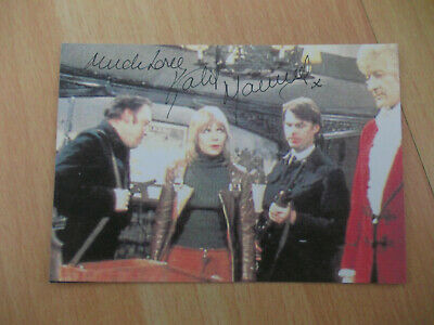 Doctor Who Katy Manning Signed 6X4  Photo Jo Grant From Mind Of Evil