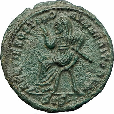 CLAUDIUS II Gothicus 317AD Deification by Constantine I AncientRoman Coin i75851