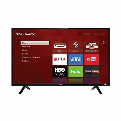 "Refurbished TCL 32"" Class HD (720P) Roku Smart LED TV (32S301) Black"