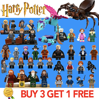 FITS LEGO HARRY POTTER MINIFIGURES, Fantastic Beasts Minifigs / WIZARDS WITCHES