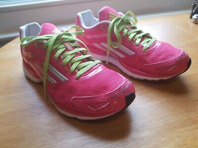 official photos 9540b b83c1 Adidas ADIZERO RUSH Running Shoe gym marathon Trainer response~Women SZ 6.5  Pink