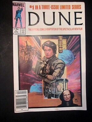 Marvel Dune #1 of 3 April 1985 Official Comics Adaptation Limited Series Comic