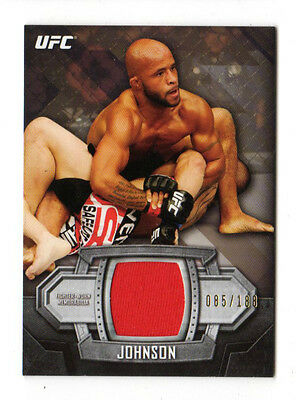 Demetrious Johnson 2014 Topps Ufc Knockout Relics #/188