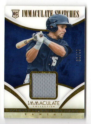 Reymond Fuentes Mlb 2014 Immaculate Collection Immaculate Swatches ( Padres)
