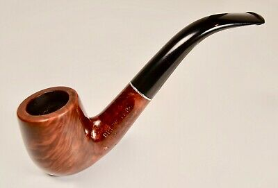 Brewster Imported Briar - Bent Billiard Estate Pipe