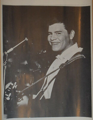 Poster Ritchie Valens Poster 50's Rockabilly Rock N Roll Icon 50s Song La Bamba
