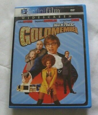 AUSTIN POWERS in GOLDMEMBER - Widescreen DVD - MIKE MYERS & BEYONCE