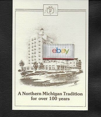 The Park Place Hotel Traverse City,Michigan Hotel Issue Postcard