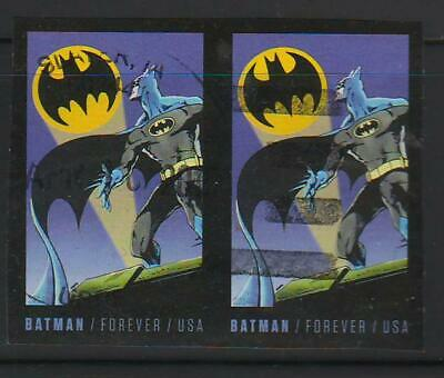 Batman Sc 4928-4935 imperforate, pair, used and off paper