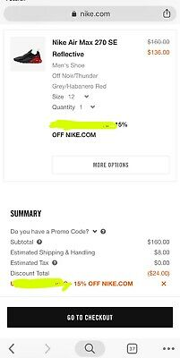 [FAST DELIVERY GUARANTEED] Nike 15% off Discount Promo Code Off Your Order