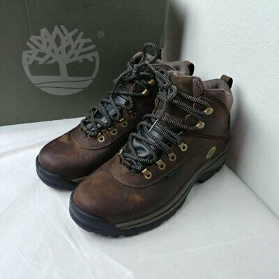 804e187e84 TIMBERLAND WOMENS WHITE LeDge MiD Ankle Hiking Boot US Size 9.5 M ...