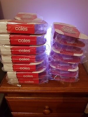 Coles Little Shop Collectable Christmas Edition Sealed Cases/folders/albums