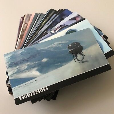 2010 Topps Star Wars Empire Strikes Back Widevision 3D Complete 48 Base Cards