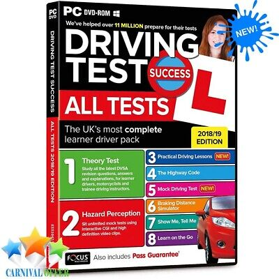 Driving Theory Test All Tests PC DVLA Car Hazard Perception Highway Code 2019 UK