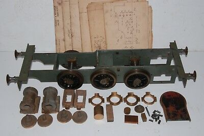 "3.5"" Rob Roy live steam loco Frames wheels cylinders castings. Martin Evans 060"