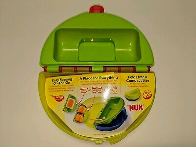 Nuk Place For Everything Easy Feeding On The Go Folding Compact Container