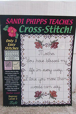 Our Family #17L Sandi Phipps Cross Stitch Pattern Booklet NEW