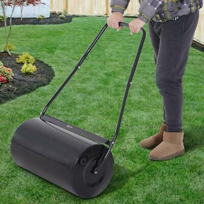 Garden Lawn Roller Push Tow Heavy Duty Water Sand Filled 46L Equipment