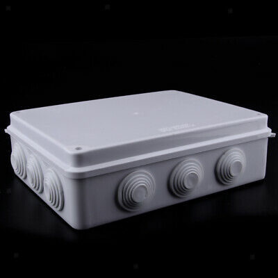 ABS Electronic Project Enclosure Plastic Cases Screw Junction Box Waterproof