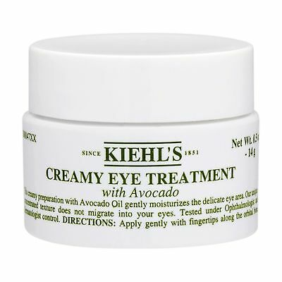 Kiehl's Creamy Eye Treatment w/ Avocado  ~ 0.5 oz / 14g ~  BRAND NEW
