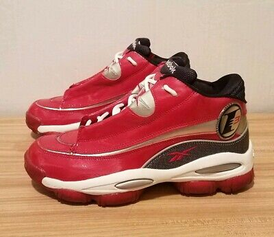 54b17e7c8f6 Original Allen Iverson Reebok The Answer DMX 10 Red Patent Leather Size  Mens 8.5